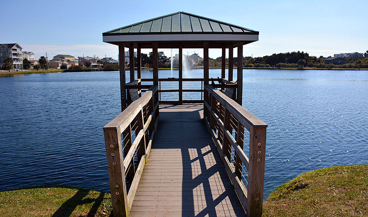 Carolina Lake gazebo