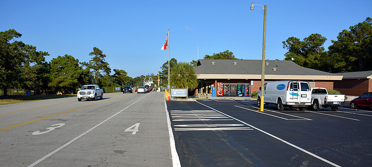 Fort Fisher ferry terminal
