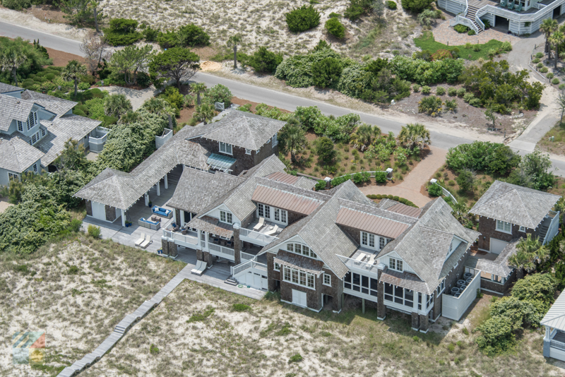 A large home on Bald Head Island