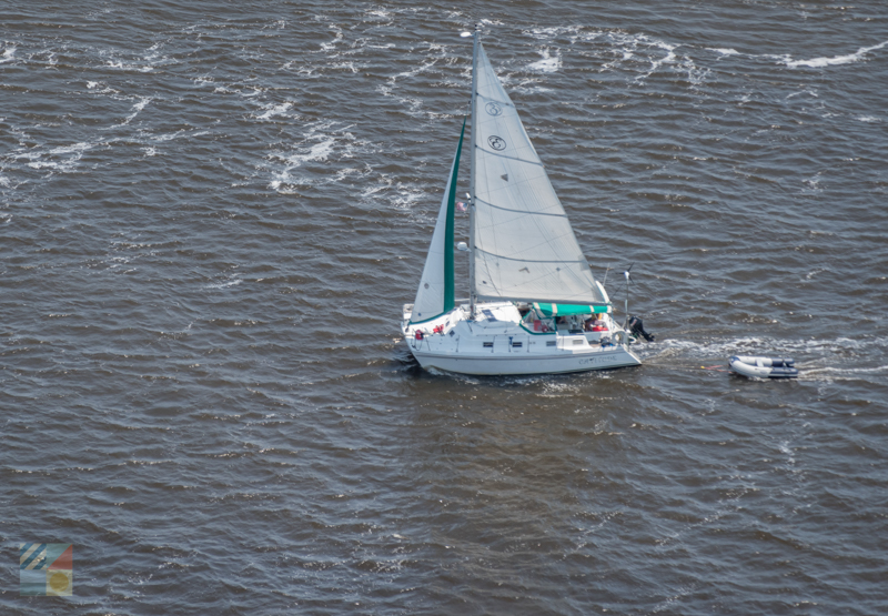 Sailing the Cape Fear River