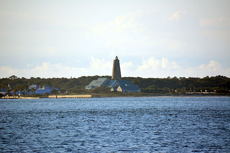 Old Baldy Lighthouse on Bald Head Island, NC