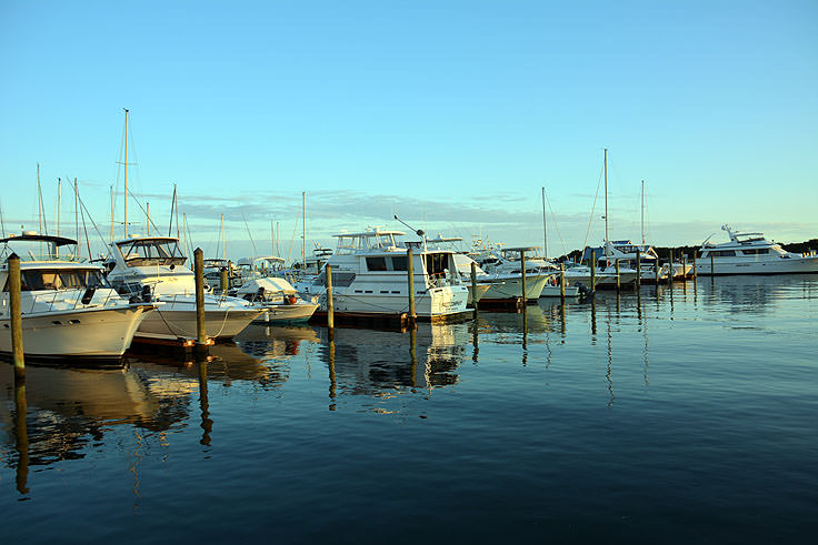 Boats at Southport Marina