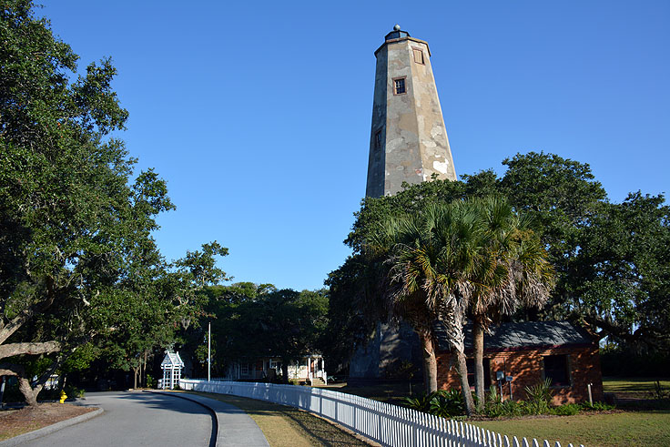 Old Baldy Lighthouse on Bald Head Island
