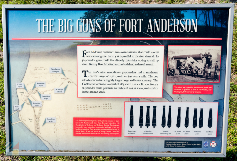 Fort Anderson - Old Brunswick Town