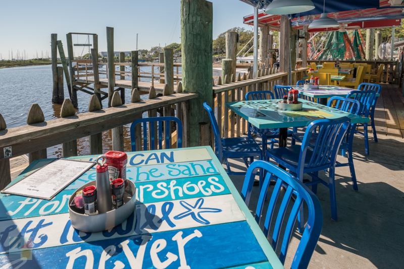 A Waterfront Restaurant In Southport NC