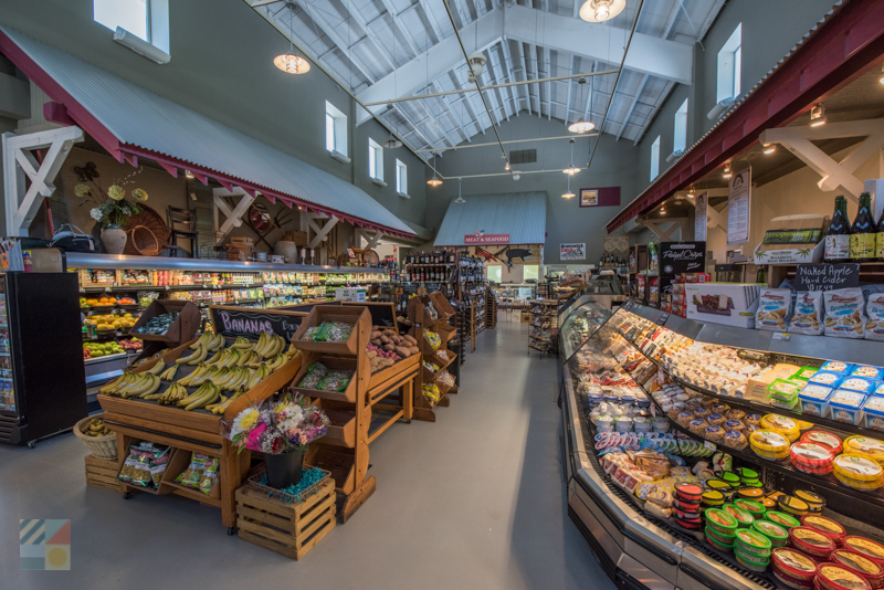 Maritime Market grocery store on Bald Head Island