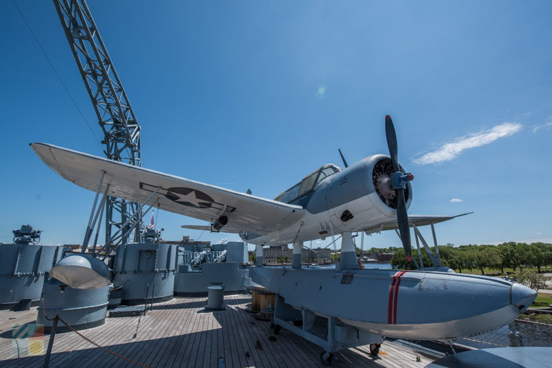 USS North Carolina battleship tour