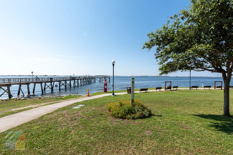 Southport pier and waterfront park