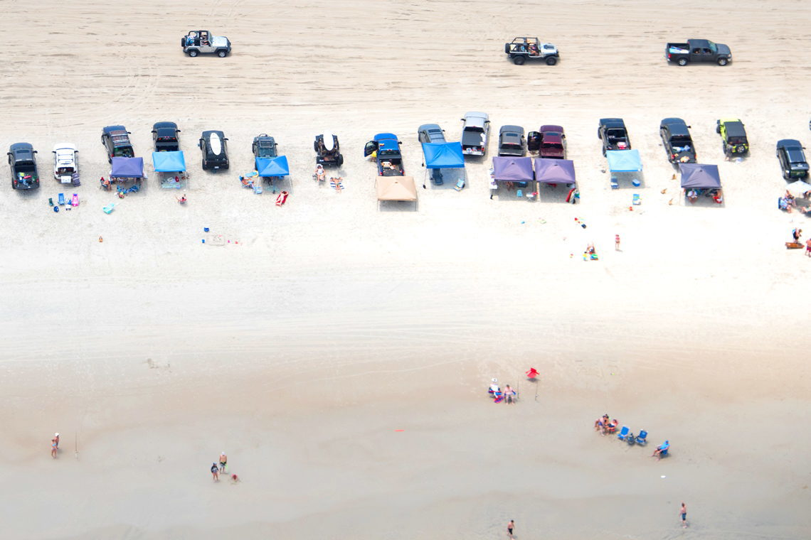 Driving on the Beach - Cape Fear and Brunswick Islands