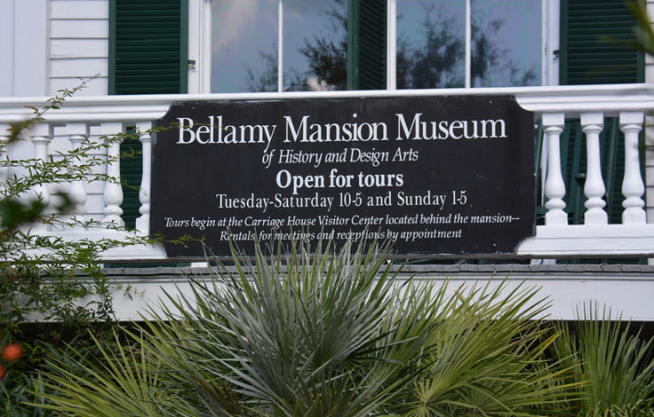 Bellamy Mansion Museum in Wilmington, NC